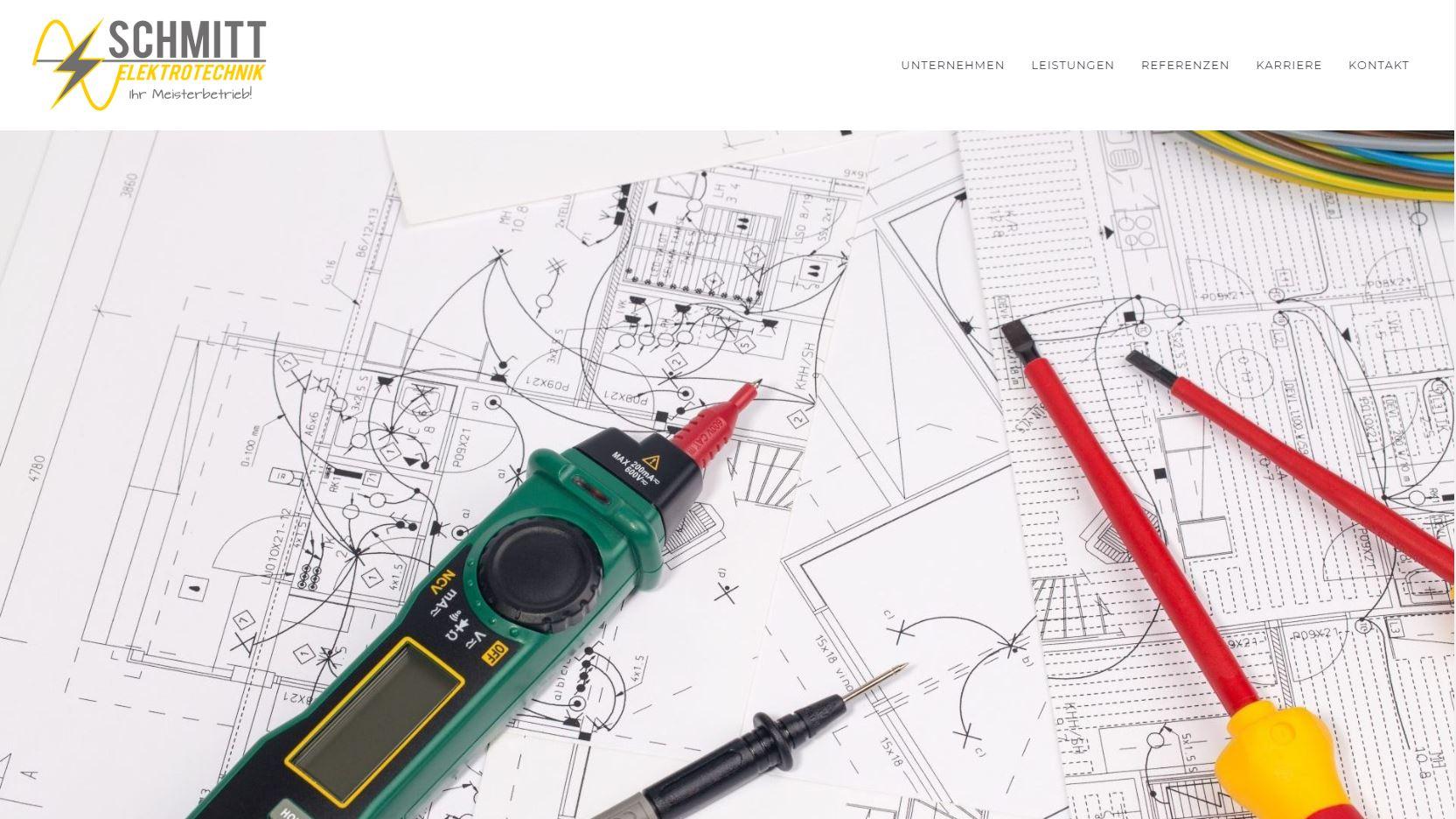 webdesign schmitt etech